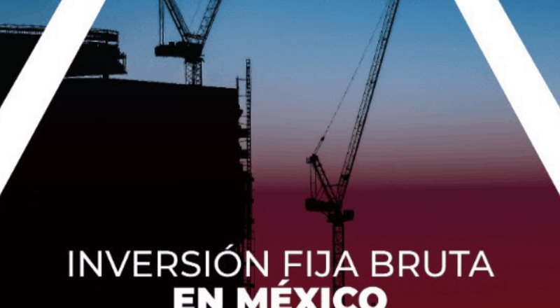 Inversión fija bruta en México Octubre 2020