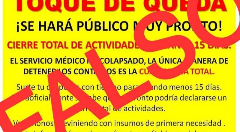 Desmienten implementación de toque de queda en Hidalgo