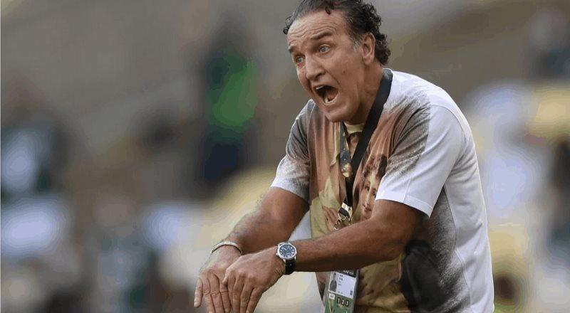 El show del entrenador de Santos en la final de la Copa Libertadores