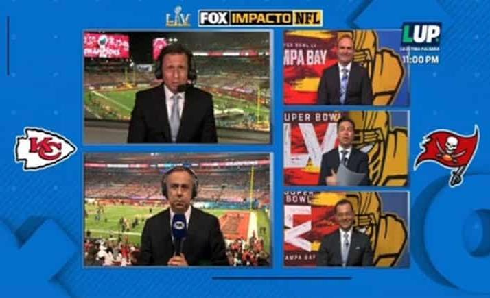 Agarrón entre conductores de FOX Sports en transmisión