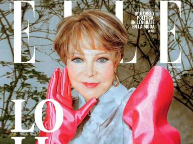 Lolita Ayala protagoniza la porta de la revista ELLE