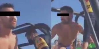 Policías arrestan a pareja gay por besarse en una playa de Cancún