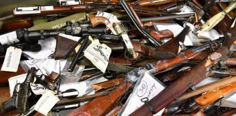 Sin avances, en el control de tráfico de armas desde EU