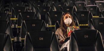 Secretaría de Salud pide prudencia a cines y teatros tras reapertura