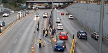Anuncian carril reversible para reducir flujo vehicular