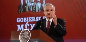 Instruye AMLO a Gabinete de Seguridad reforzar seguridad en Zacatecas