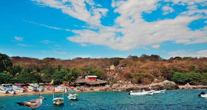Califica Cofepris a playas oaxaqueñas como aptas para vacacionar