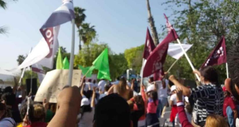 Sin sana distancia, arrancan campañas en Sinaloa.