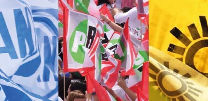 """Iniciarán campaña candidatos del PRI y de """"va por México"""" a gubernaturas y diputaciones federales, en la madrugada del domingo."""