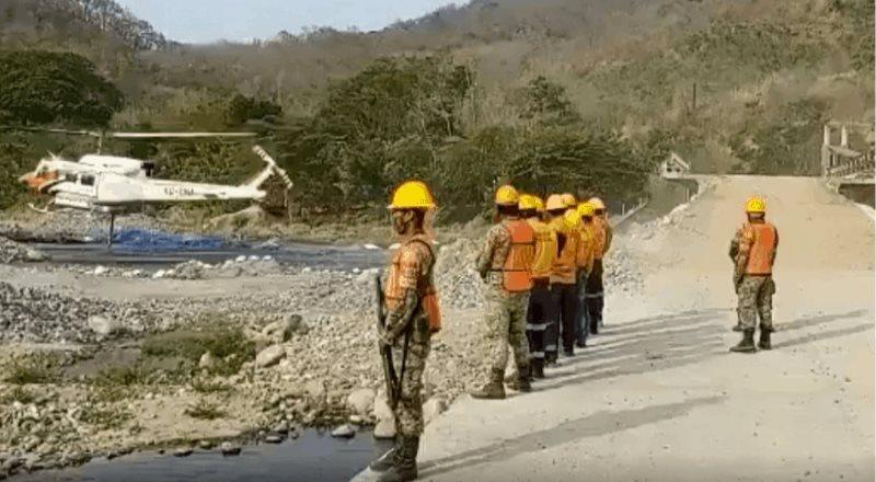Después de ocho días, logran controlar incendio forestal en Oaxaca