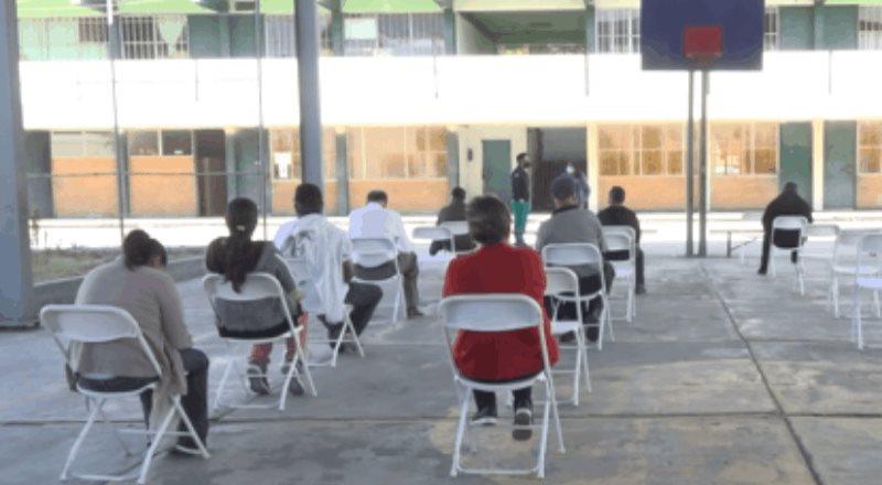 Aplica Secretaría de Salud más de 20 mil vacunas contra COVID-19 a personal educativo de BC