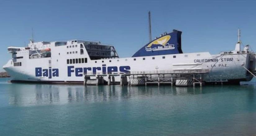 Buscan a pasajero que no bajó de un ferry en Baja California