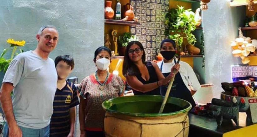 López-Gatell descansa en Oaxaca tras catarro común en mañanera