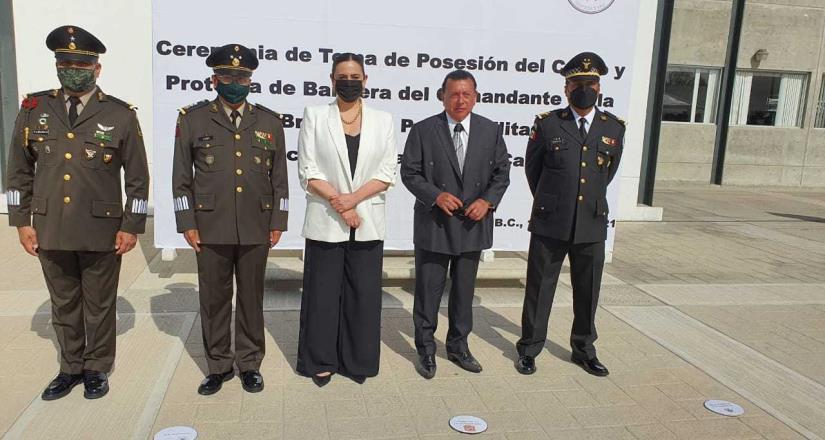 El Fiscal General del Estado mantiene colaboración con el coordinador de la Guardia Nacional en BC