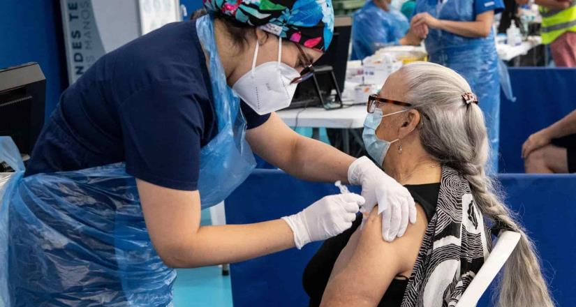 Inicia vacunación Covid a personas de 50 a 59 años en 4 alcaldías.