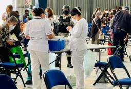 Finaliza jornada de vacunación en trabajadores de la educación de BC