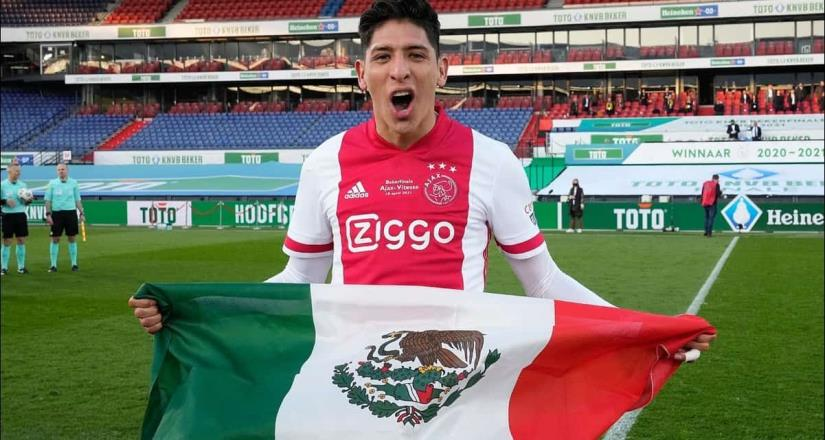 El mexicano Edson Álvarez, candidato a MVP de la Eredivisie