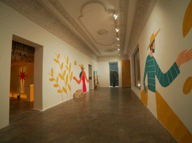 """Stella Artois, crea """"Malt Gallery"""", espacio artístico inspirado en su ingrediente principal, la malta"""