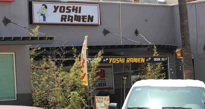 Encuentran cadáver al interior de un restaurante de comida japonesa