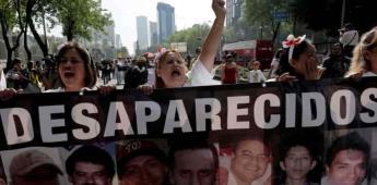 Continúan sin control las desapariciones forzadas en México