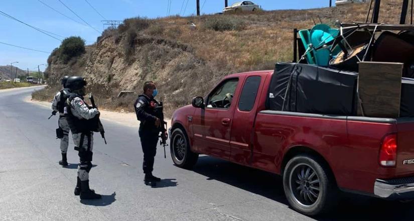 Despliega la FGE policial para reforzar operativos en zonas vulnerables de Tijuana