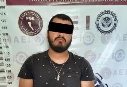 Detienen la Fiscalía General del Estado a presuntos integrantes de un grupo criminal