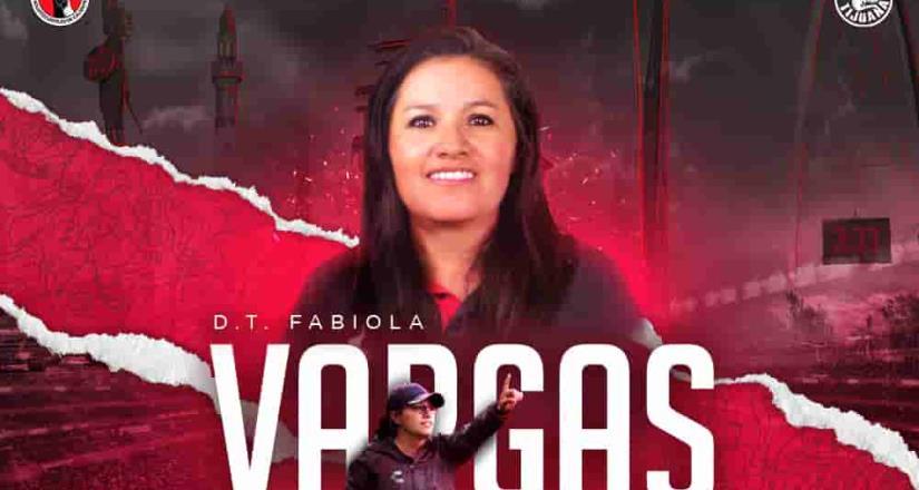 Fabiola Vargas es nueva entrenadora de Xolos femenil