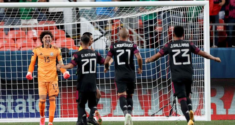 México sufre, pero sacan boleto para la final