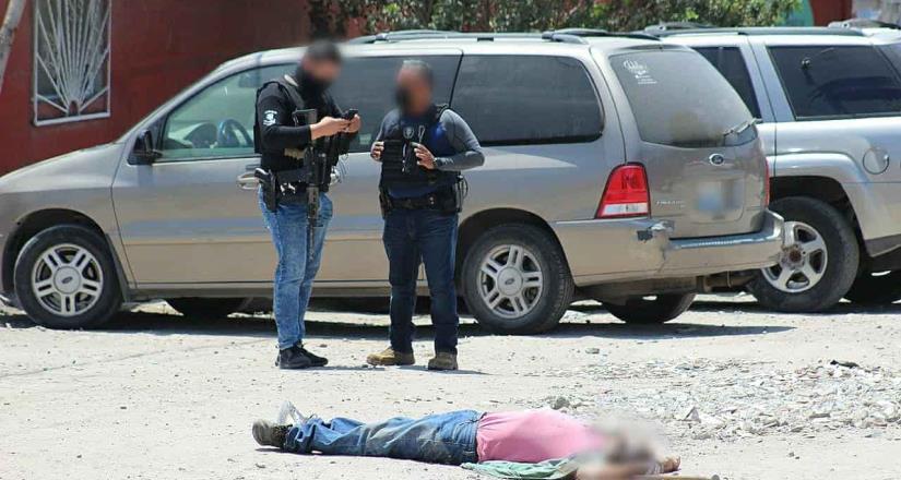 Fue asesinado un guardia de seguridad de la 3ra edad , en la colonia Mariano Matamoros.