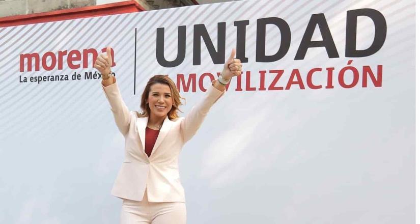 PREP confirma gubernatura para Marina del Pilar en Baja California.