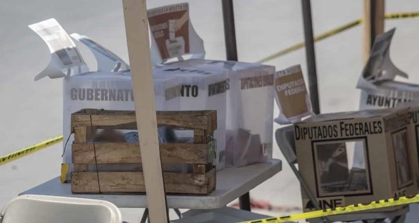 Baja California rompe récord de homicidios en día de elecciones