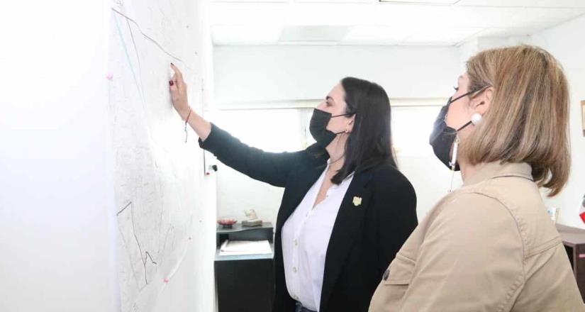 Pone en marcha Karla Patricia Ruiz Macfarland proyectos en delegación centenario
