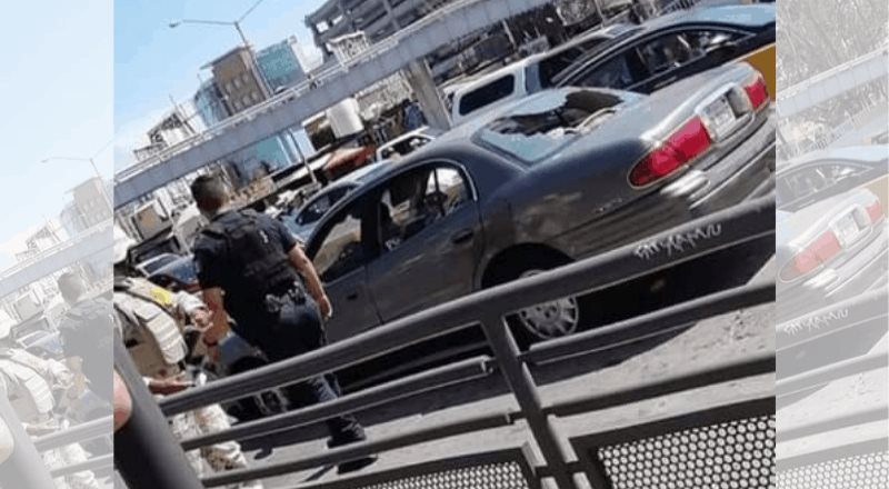 Vídeos en la garita de San Ysidro causan revuelo ante incidente con un automovilista