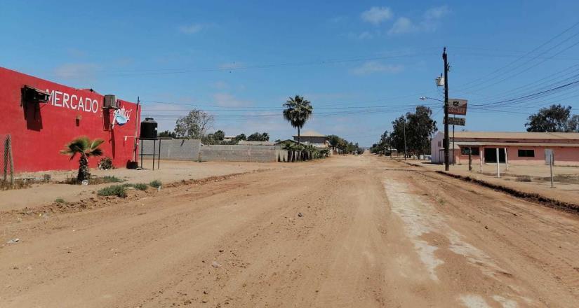 Más de 30 kilómetros de vialidades han sido rehabilitadas en Punta Colonet