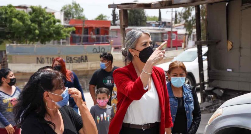 ¨Sindicatura en tu colonia¨ reanuda actividades en colonia Mariano Matamoros.