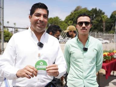 """Invita Armando Ayala a hacer uso de los """"Puntos Verdes""""; van 215 toneladas de residuos para su reciclaje"""