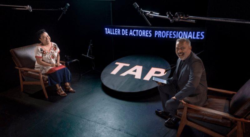 """Mónica del Carmen, galardona actriz será la siguiente invitada en """"TAP, Taller de Actores Profesionales"""""""