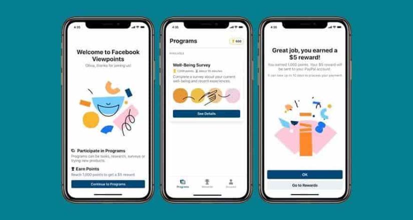 Facebook te paga por dar tu opinión. Viewpoints llega a México