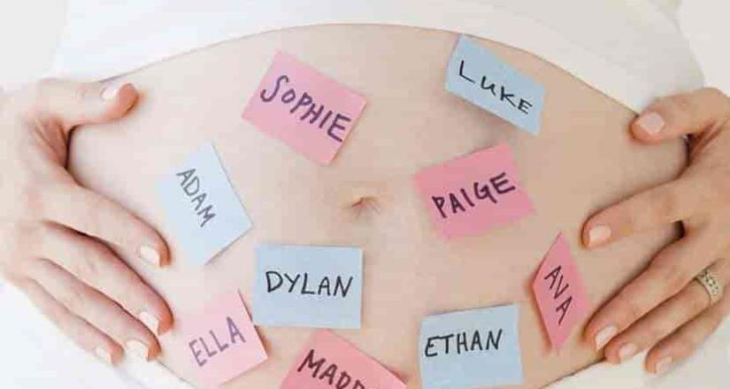José, María, Juan y Guadalupe ya no están de moda, los nombres de moda según un estudio.