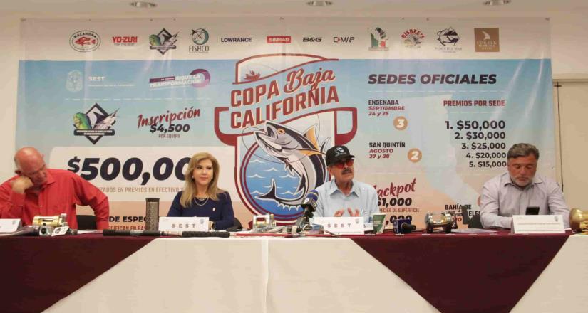 Se anuncia la Copa Baja California de pesca deportiva
