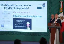 Certificado de vacunación contra Covid-19 ya está disponible