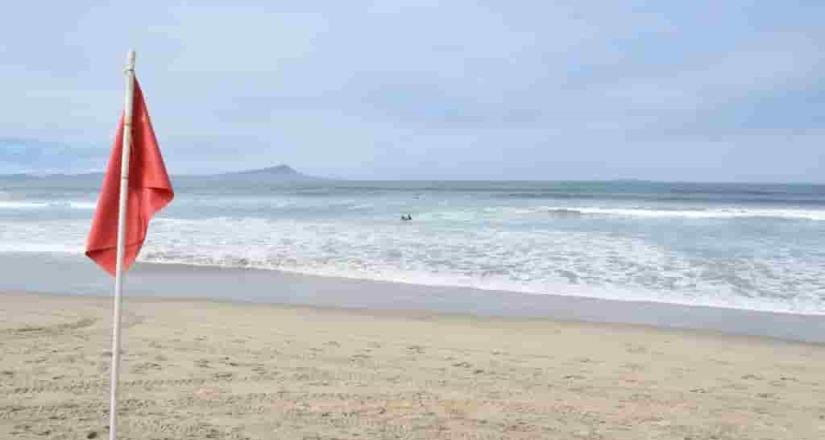 Emite  Gobierno de Ensenada cierre de  Playa Hermosa