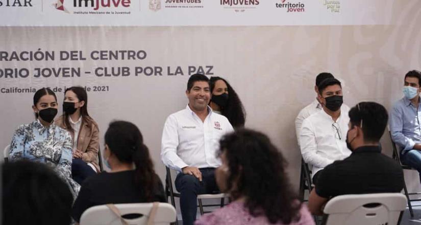 Abre sus puertas espacio educativo Centro Territorio Joven Ensenada-Clubes por la Paz
