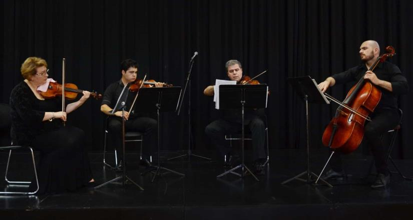 El público disfrutó del primer concierto ofrecido en la Sala Federico Campbell del Cecut