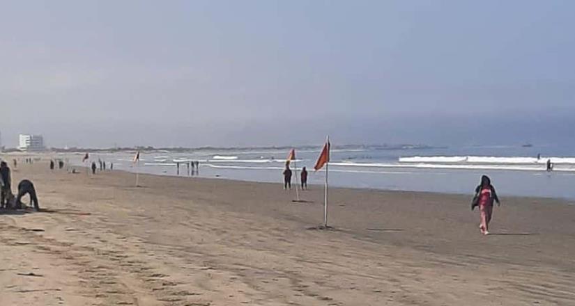 Reitera Gobierno de Ensenada llamado a no introducirse al mar de Playa Hermosa