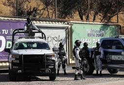 Se registra accidente en el bulevar 2000 entre dos camiones