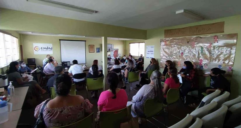 Establece CEDHBC alianza con casas hogar de Baja California