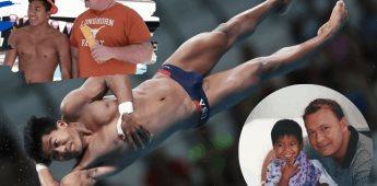 Jordan Windle, el atleta que fue adoptado por un homosexual en Camboya y cambio su vida