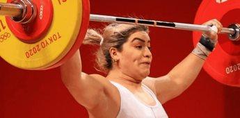 ¿Quién es Aremi Fuentes, la medallista de México en halterofilia?