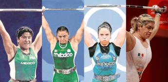 Aremi Fuentes, cuarta mexicana en ganar medalla en halterofilia